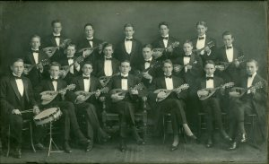 The Mandolin Club - Academic year 1910-1911