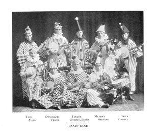 The Banjo Band- Academic Year 1920-1921