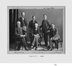 Faculty 1896