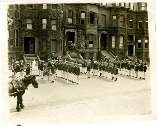 APRIL1916-Parade